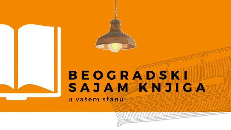 Beogradski sajam knjiga u vašem stanu!