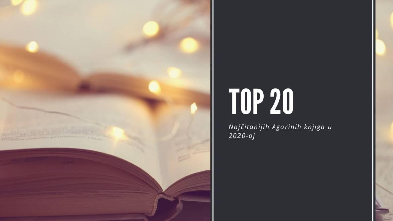 TOP 20: Najčitanijih Agorinih knjiga u 2020-oj